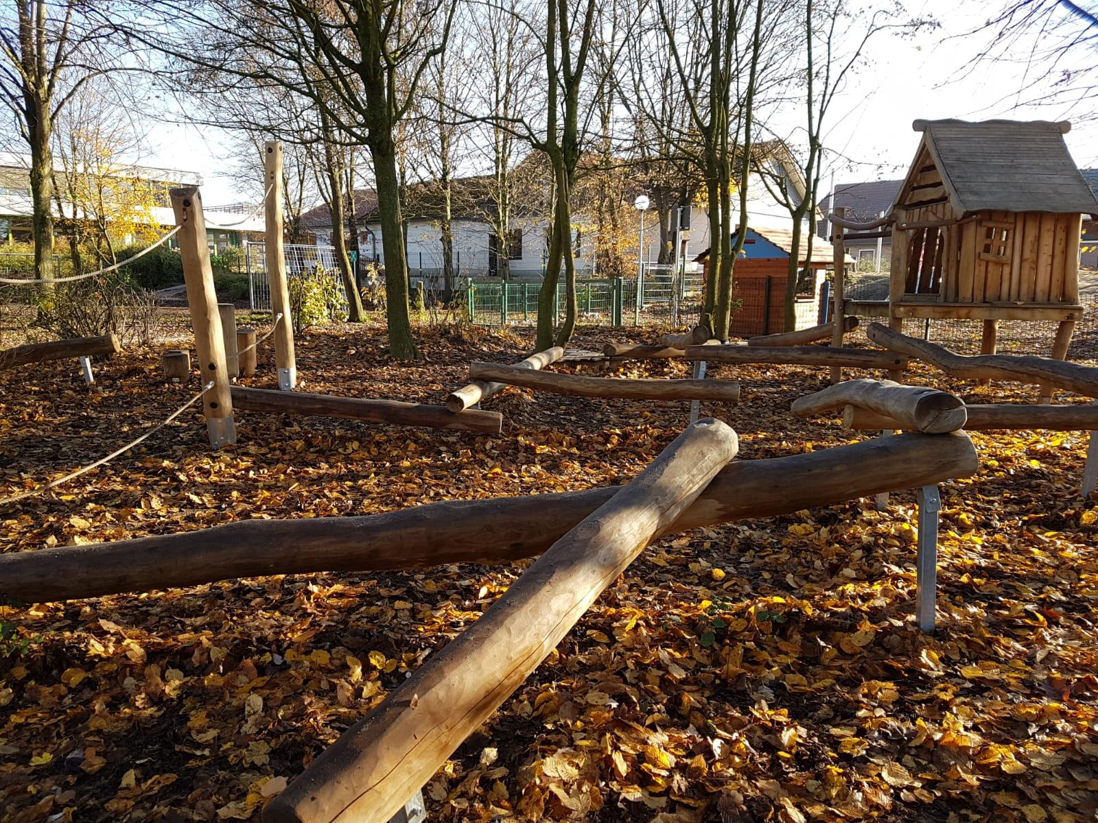 Neuer Niedrigseilgarten